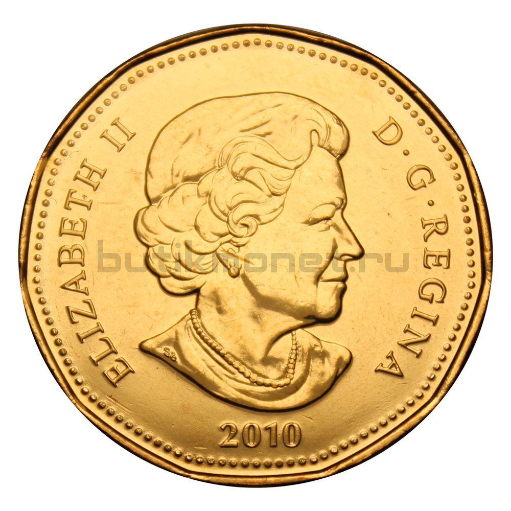 1 доллар 2010 Канада Талисман (Олимпийские игры в Ванкувере)