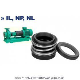 Торцевое уплотнение для насоса Wilo IL 100/145-1.1/4