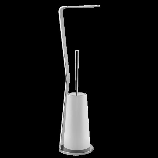 Gessi Cono Комплект: Держатель для туалетной бумаги + ёршик 45633
