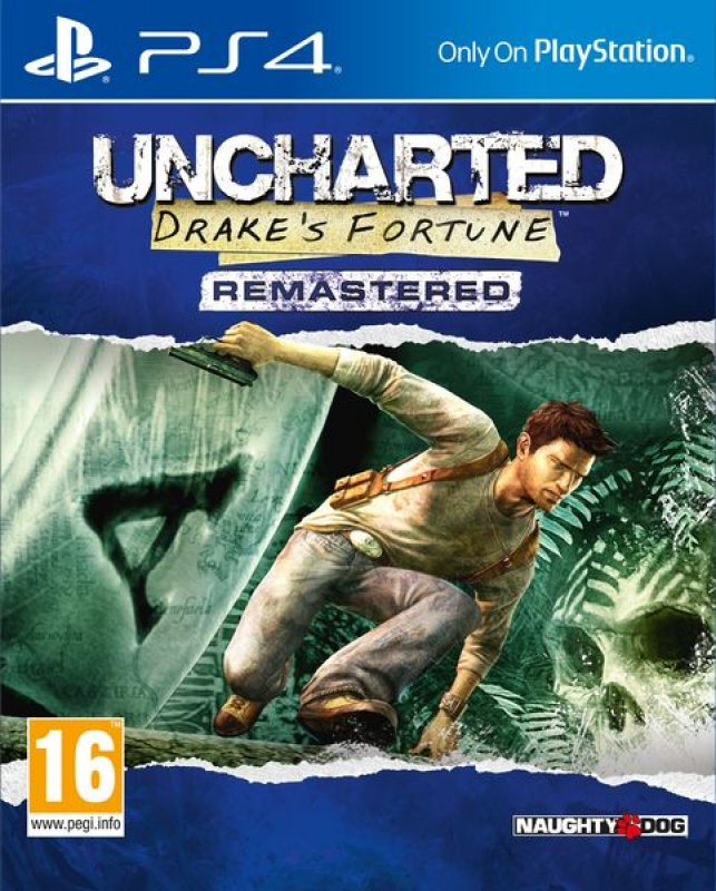 Игра Uncharted : Drake's Fortune Remastered (PS4)
