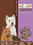 Дилли - Корм для собак мелких пород (16 кг)