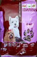 Дилли - Корм для собак мелких пород (4 кг)
