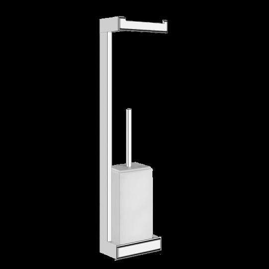 Gessi Eleganza Комплект: Держатель для туалетной бумаги + ёршик 46467
