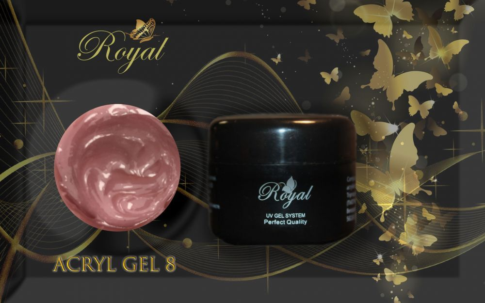 ACRYL GEL CAMOUFLAGE № 08 ROYAL