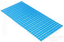 Антискользящий коврик для ванны Rondo голубой 72 х 36 см 0159
