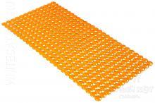 Антискользящий коврик для ванны Rondo оранжевый 72 х 36 см 0159