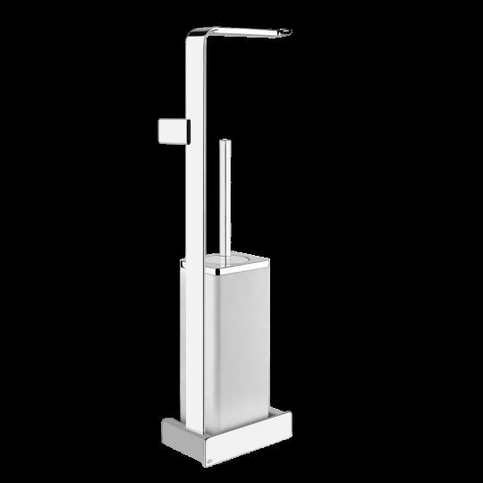 Gessi iSpa Комплект: Держатель для туалетной бумаги + ёршик 41667