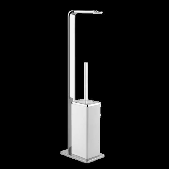 Gessi iSpa Комплект: Держатель для туалетной бумаги + ёршик 41733