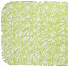 Антискользящий коврик для душа Lux зелёный 52 х 52 см 0260