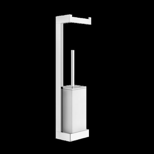 Gessi Rettangolo Комплект: Держатель для туалетной бумаги + ёршик 20867