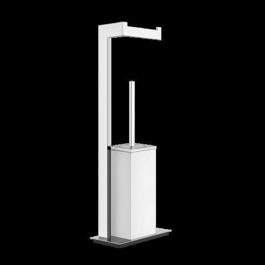 Gessi Rettangolo Комплект: Держатель для туалетной бумаги + ёршик 20933