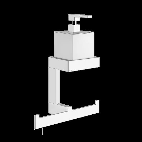 Gessi Rettangolo Комплект: Диспенсер для жидкого мыла + полотенцедержатель 20879