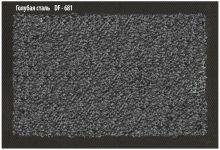 Ковёр Каучук асептик 60 х 85 см голубая сталь