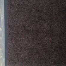 Ковёр Каучук асептик 60 х 85 см чёрно-коричневый