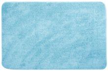 Коврик для ванной комнаты голубой 50 х 80 см