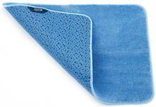 Коврик для ванны голубой 65х45 см