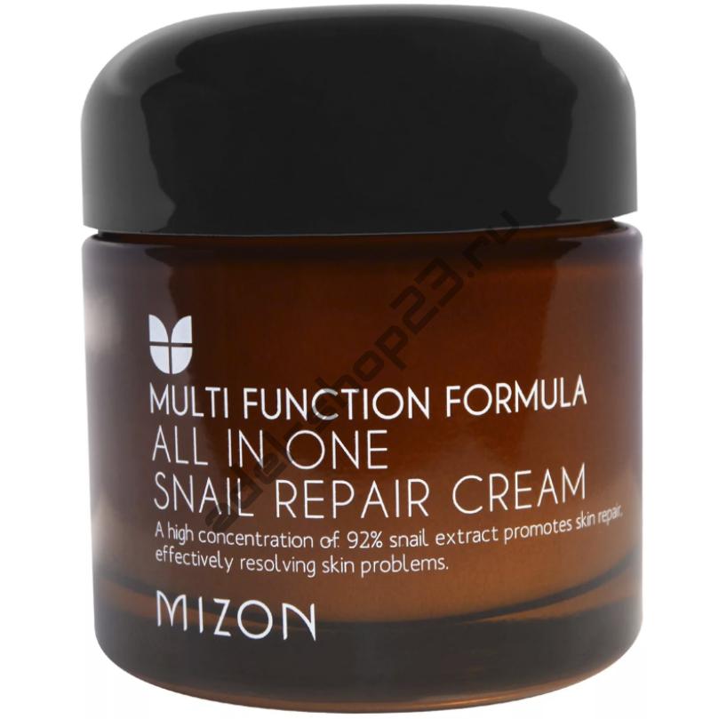"""MIZON - Крем с улиточной слизью """"All In One Snail Repair Cream"""" 75ml"""