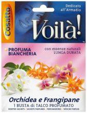 Льняные саше для постельного белья Орхидея и франжипани