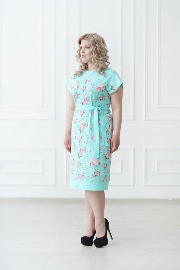 Платье 912 ментол