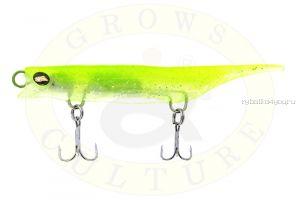 Силиконовый воблер Grows Culture Viper 80 мм / 7 гр / цвет Clear-Chartreuse