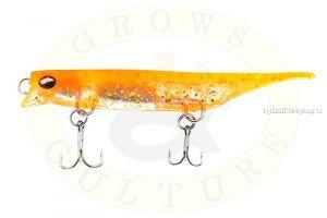 Силиконовый воблер Grows Culture Viper 80 мм / 7 гр / цвет Orange-Gold