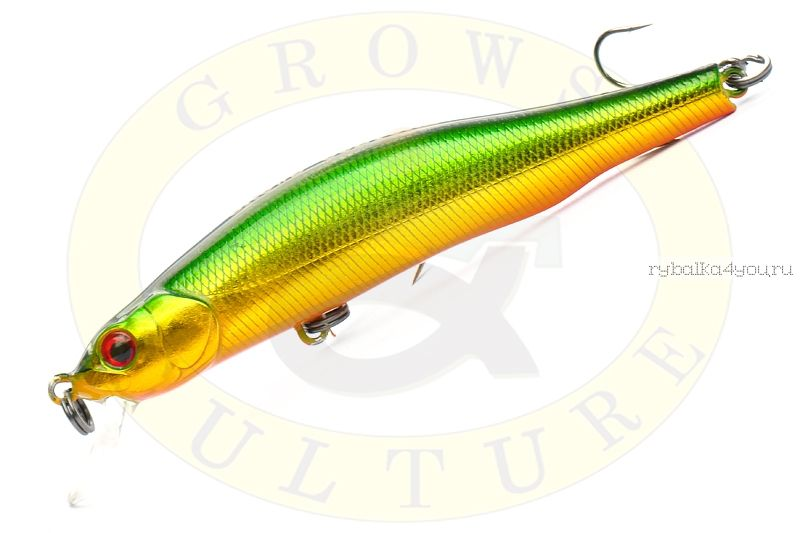 Купить Воблер Grows Culture Orbit 90SP-SR 90мм/ 10,8гр/ Заглубление: 0,8 - 1 м / цвет: 830R