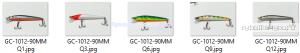 Воблер Grows Culture Lore 90F GC-1012  90мм/ 7гр/ Заглубление: 0,2 - 1,2 м / цвет:  Q9