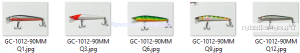 Воблер Grows Culture Lore 90F GC-1012  90мм/ 7гр/ Заглубление: 0,2 - 1,2 м / цвет:  Q12