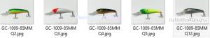 Воблер Grows Culture Track 85F GC-1009  85мм/ 7гр/Заглубление: 0,1-2 м / цвет:  Q5