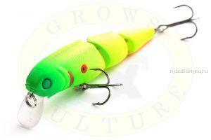 Воблер Grows Culture Busher-3 GC-1041 70мм/ 10гр/Заглубление: 0 - 1,2 м / цвет: Q5