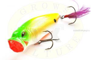 Воблер Grows Culture Поппер GC-1067B 80мм/ 12гр/ цвет:  Q8