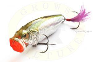 Воблер Grows Culture Поппер GC-1067B 80мм/ 12гр/ цвет:  Q12