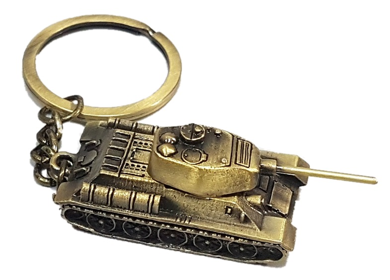 Брелок Танк Т-34 металл