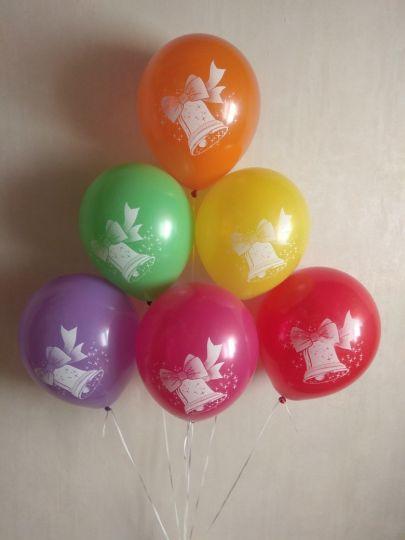 Колокольчик латексные шары с гелием