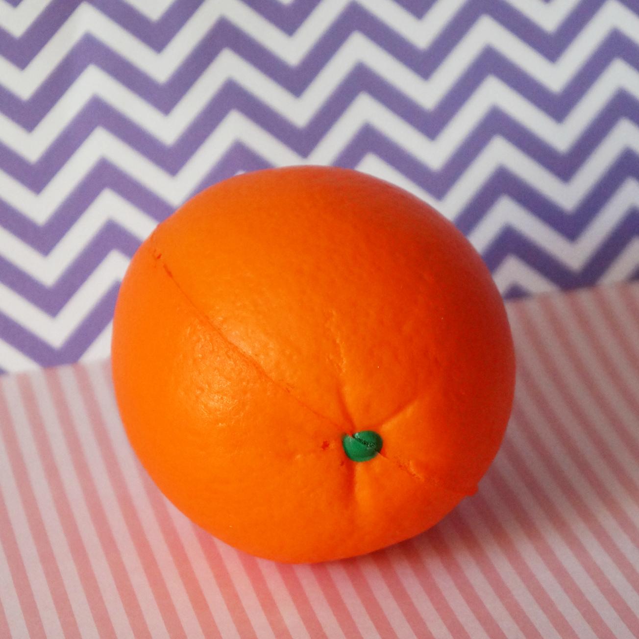 сквиши антистресс апельсин купить недорого