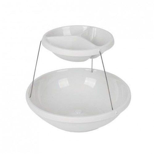 Складная пластиковая ваза для фруктов и снеков Twistfold Party Bowls (2 яруса)