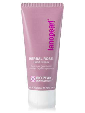 LANOPEARL Herbal Rose Крем для рук с маслом розы