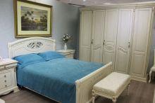Шкаф ЛАУРА 5-ти дверный для одежды и белья, эмаль