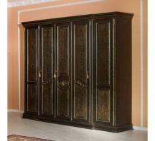 Шкаф ЛАУРА для одежды 5-дверный