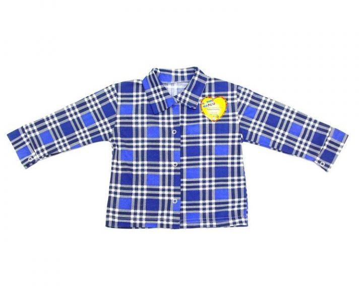 Рубашка в клетку C-KF421(p)-SU (супрем)