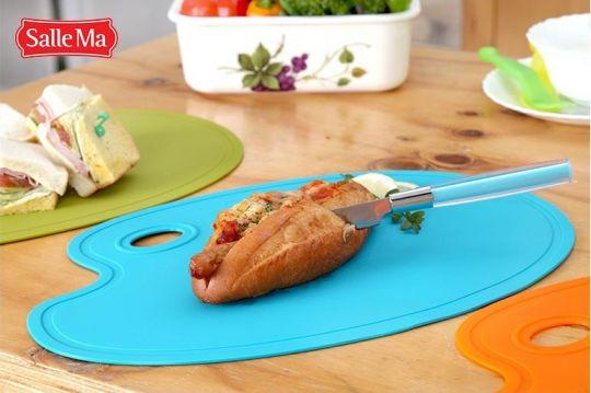 Разделочная доска Sallema Food Palette небесно-голубая