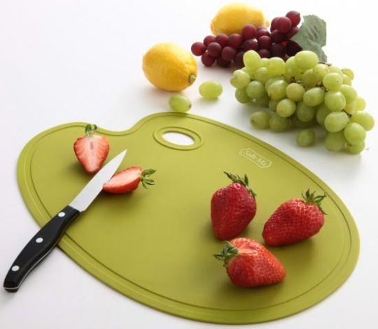 Разделочная доска Sallema Food Palette салатовая