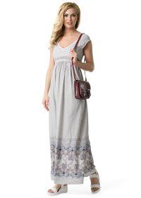 """Платье """"Бьёрк"""" для беременных и кормящих бежевый"""