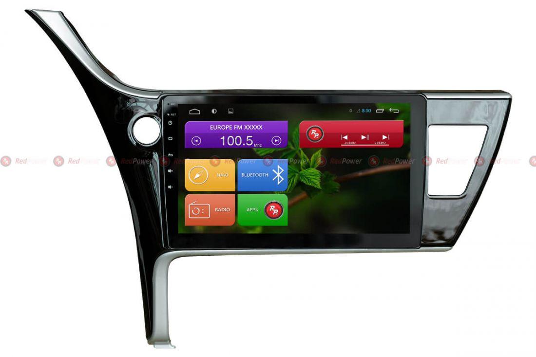 Магнитола для Toyota Corolla до 2015 г. (под американский рынок) Redpower 31166 IPS ANDROID 7