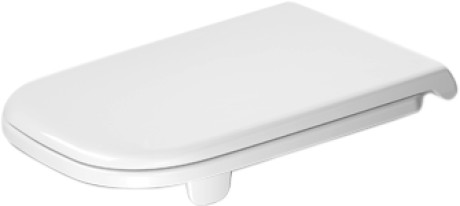 Duravit D-Code Сиденье для унитаза с крышкой без автоматического опускания 006041
