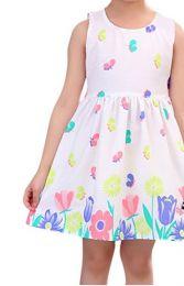 летнее платье, сатин, рост 110,120 см.,