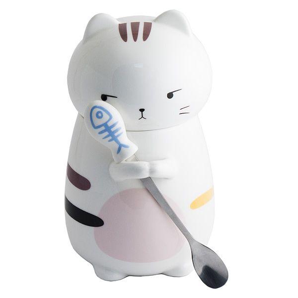 Кружка Кот с ложкой N 1