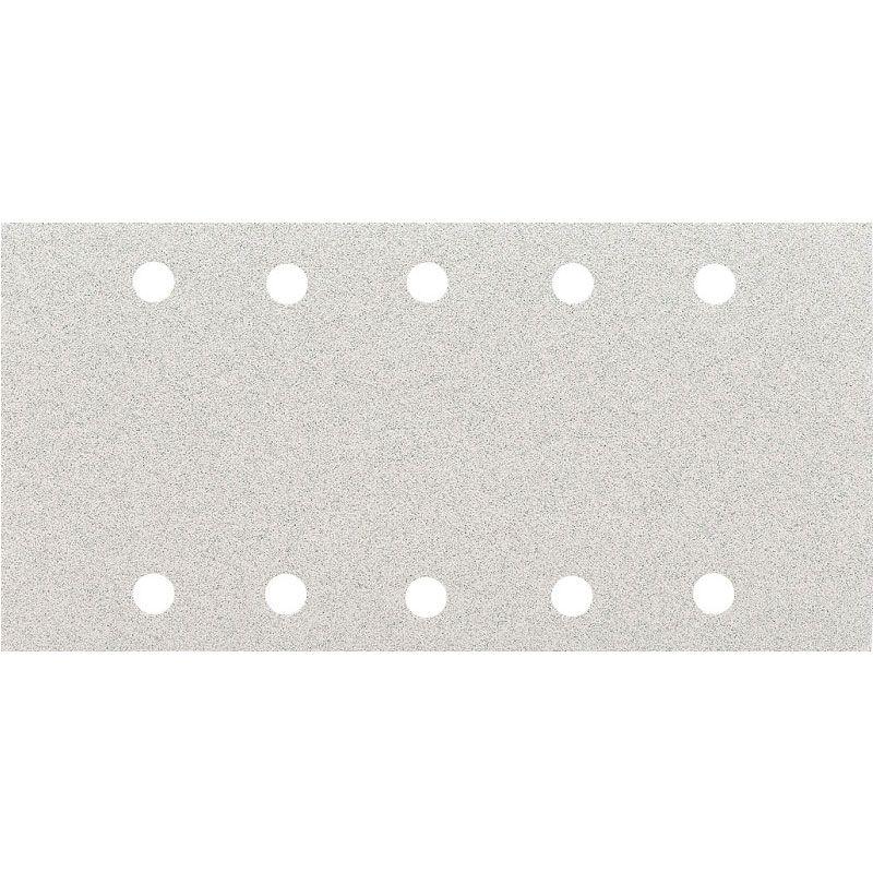 Smirdex P120 Абразивная бумага 510 White, 10 отверстий, 115мм. х 230мм., (упаковка 50 шт.)