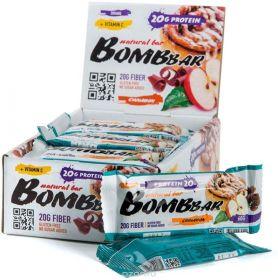 Протеиновый батончик Bombbar яблоко-корица 60 гр