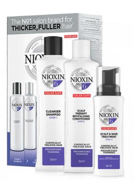 Nioxin 3D System 6 Набор 3-х ступенчатой системы XXL-формата Система 6